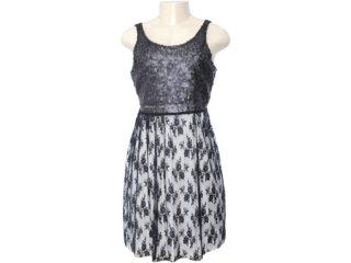 Vestido Feminino Dona Florinda 63381 Preto - Tamanho Médio