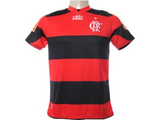 Camisa Masculina Olympikus Fl26026v Preto/vermelho - Tamanho Médio