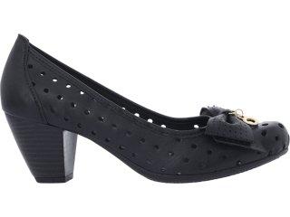 Sapato Feminino Brenners 2041 Preto - Tamanho Médio