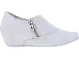 Sapato Feminino Comfortflex 73305 Branco - Tamanho Médio