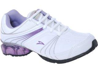 Tênis Feminino Trainer 180 Branco/lilas - Tamanho Médio