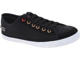 Tênis Masculino Coca-cola Shoes Cc0148 Preto - Tamanho Médio