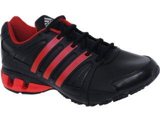 Tênis Masculino Adidas G29608 100 Flow Preto/vermelho - Tamanho Médio