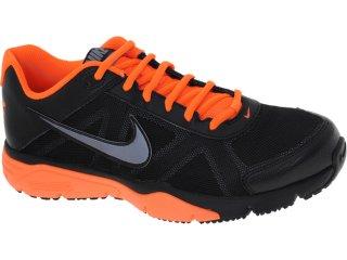 Tênis Masculino Nike 512109-004 Dual Fusion Preto/laranja - Tamanho Médio