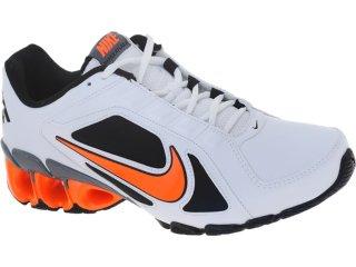 Tênis Masculino Nike 487979-108 Impax Bco/pto/laranja - Tamanho Médio