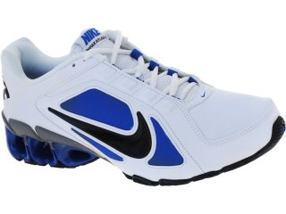 Tênis Masculino Nike 487979-104 Impax Bco/azul/pto - Tamanho Médio