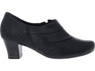 Sapato Feminino Campesi 2074 Preto - Tamanho Médio