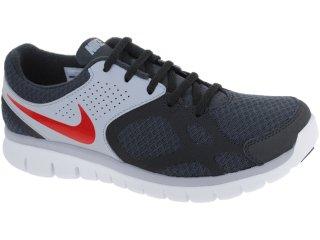 Tênis Masculino Nike 512019-002 Flex 2012 Chumbo/cinza - Tamanho Médio
