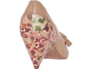 09df228a7 Sapato Tanara 3181 Natural Comprar sapato salto cone...