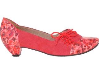 Sapato Feminino Tanara 2966 Carmim - Tamanho Médio