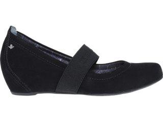 Sapato Feminino Cravo e Canela 86403/0001 Preto - Tamanho Médio