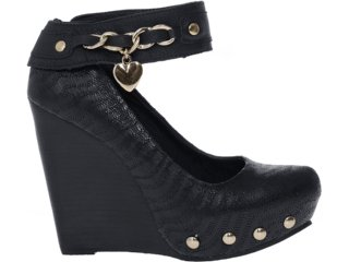 Sapato Feminino Tanara 3161 Preto - Tamanho Médio