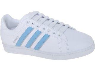 Tênis Feminino Adidas G29409 Derby Branco/celeste - Tamanho Médio