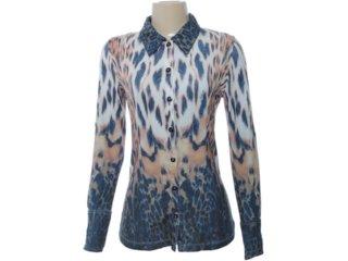 Camisa Feminina Intuição 121414 Tigresa - Tamanho Médio