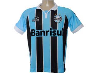 Camisa Masculina Grêmio C1000m Tricolor - Tamanho Médio