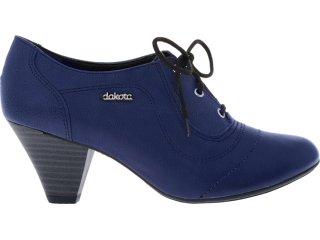 Sapato Feminino Dakota 3744 Marinho - Tamanho Médio