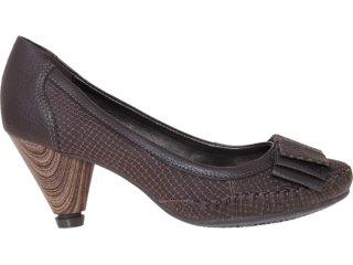 Sapato Feminino Dakota 4271 Café - Tamanho Médio
