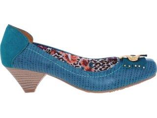 Sapato Feminino Via Marte 12-602 Petróleo - Tamanho Médio