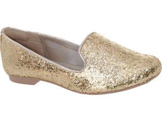 Sapato Feminino Dakota 3862 Ouro - Tamanho Médio