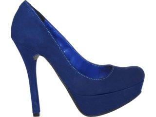 Sapato Feminino Via Marte 12-5702 Marinho - Tamanho Médio