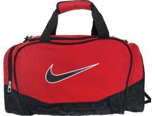 Bolsa Masculina Nike Ba3234-682 Preto/vermelho - Tamanho Médio