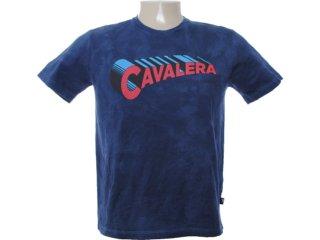 Camiseta Masculina Cavalera Clothing 01.01.6610 Azul - Tamanho Médio