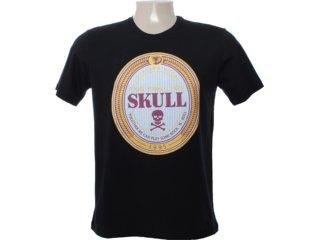 Camiseta Masculina Cavalera Clothing 01.01.6641 Preto - Tamanho Médio