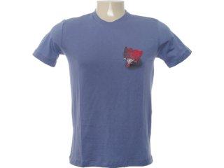 Camiseta Masculina Cavalera Clothing 01.01.6634 Azul - Tamanho Médio