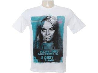 Camiseta Masculina Cavalera Clothing 01.01.6558 Branco - Tamanho Médio