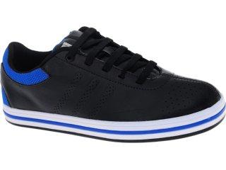 Tênis Masculino Adidas G29176 Zeitfrei Synt Preto/azul - Tamanho Médio