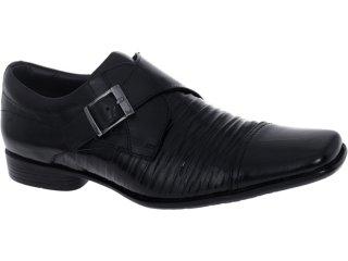 Sapato Masculino New Confort 12576 Preto - Tamanho Médio