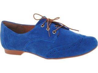 Sapato Feminino Dakota 3866 Azul - Tamanho Médio