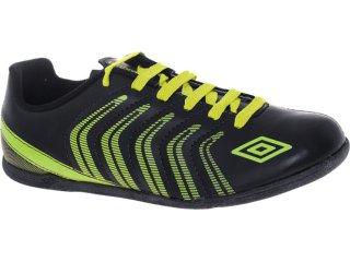 Tênis Masculino Umbro 10133 Prime Preto/verde - Tamanho Médio