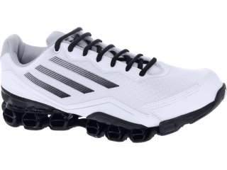 Tênis Masculino Adidas V21533 az Bounze Branco/preto - Tamanho Médio