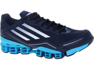 Tênis Masculino Adidas V21531 az Bounce Marinho/celeste - Tamanho Médio