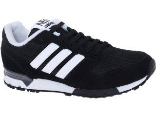 Tênis Masculino Adidas G52567 8k Runner Preto/branco - Tamanho Médio