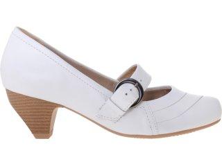 Sapato Feminino Campesi 2014 Branco - Tamanho Médio