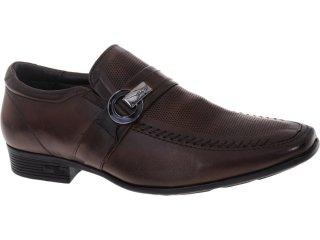 Sapato Masculino Jota pe 11605 Tan - Tamanho Médio