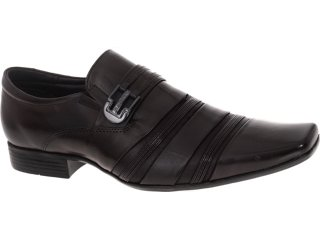 Sapato Masculino Jota pe 10038 Brown - Tamanho Médio