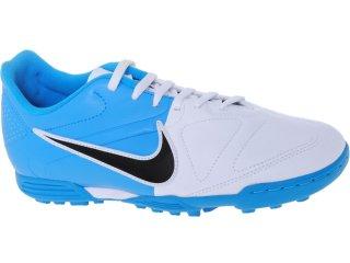 Tênis Masculino Nike Enganche 429555-140 Branco/azul - Tamanho Médio
