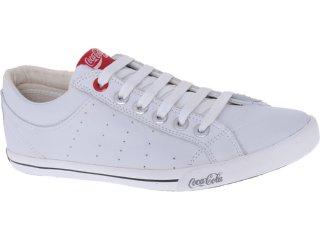 Tênis Masculino Coca-cola Shoes Cc0811000 Branco - Tamanho Médio