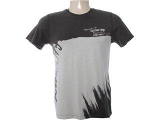 Camiseta Masculina Dzarm 6bu8 Nem10 Marrom - Tamanho Médio