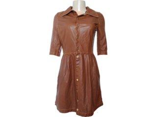Vestido Feminino Moikana 6051 Caramelo - Tamanho Médio