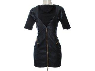Vestido Feminino Moikana 6008 Preto - Tamanho Médio