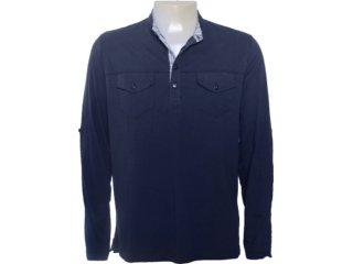 Camisa Masculina Individual 305.222.220 Marinho - Tamanho Médio
