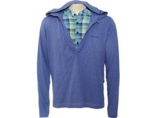 Camiseta Feminina Cavalera Clothing 01.02.0491 Azul - Tamanho Médio