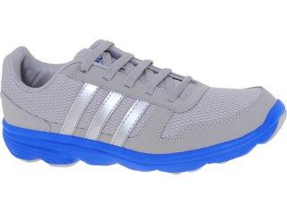 Tênis Masculino Adidas G53695 Lite Runner Cinza/azul - Tamanho Médio