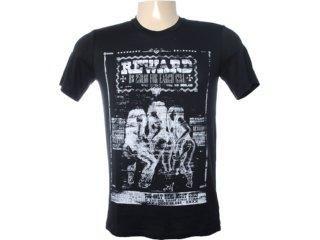 Camiseta Masculina Cavalera Clothing 01.01.6468 Preto - Tamanho Médio