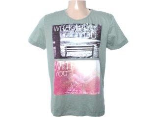 Camiseta Masculina Coca-cola Clothing 353202803 Musgo - Tamanho Médio