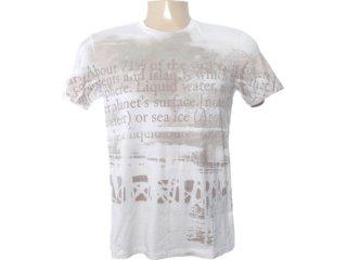 Camiseta Masculina Cavalera Clothing 01.01.6604 Off White - Tamanho Médio